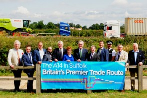 Suffolk businesses back campaign for £150 million investment in A14