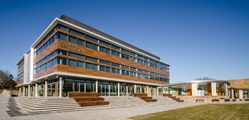 Centrum, hub building for Norwich Research Park
